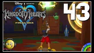 Let's Play Kingdom Hearts HD Final Mix (Blind) Part 43: Practicing Magic with Merlin!