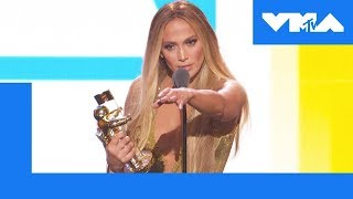 Jennifer Lopez Accepts the Video Vanguard Award | 2018 MTV Video Music Awards
