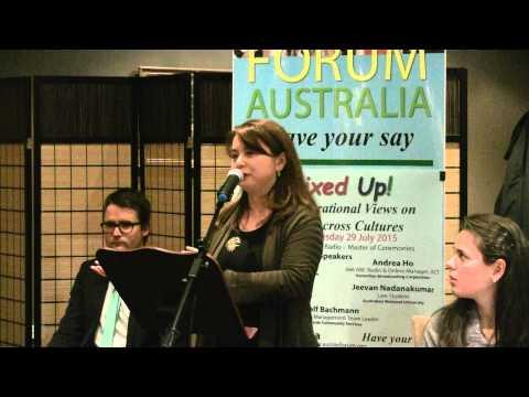 06 Andrea Ho Talk - Forum Australia Mixed Up!