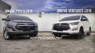 Comparison New Toyota Innova Venturer and Innova Type V 2019