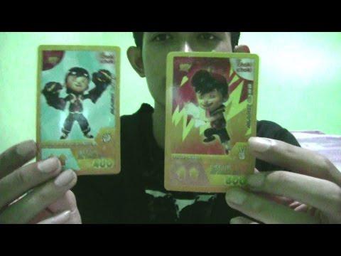 GOLD CARD??choki choki AR Boboiboy