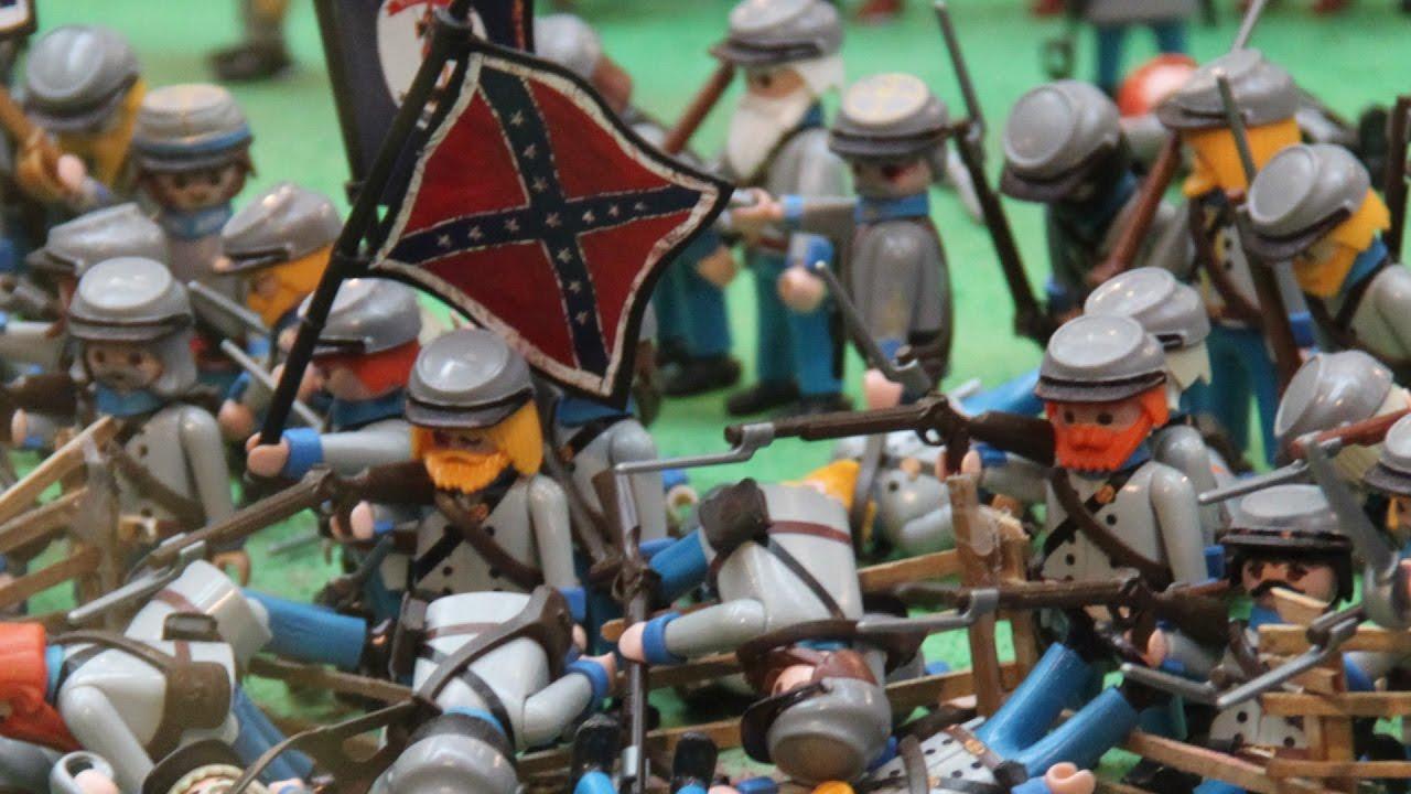 Playmobil The Battle of Gettysburg - YouTube