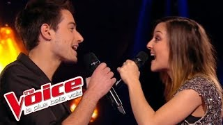 The Voice 2015│Camille Lellouche VS Jérémy Charvet - C'était bien (Bourvil)│Battle