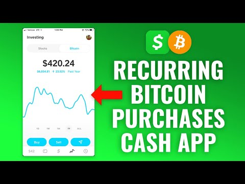 How To Set Up Recurring Bitcoin Purchases On Cash App