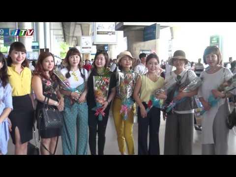 Đón chuyên gia tại sân bay - Ngành làm đẹp ASIA 2017
