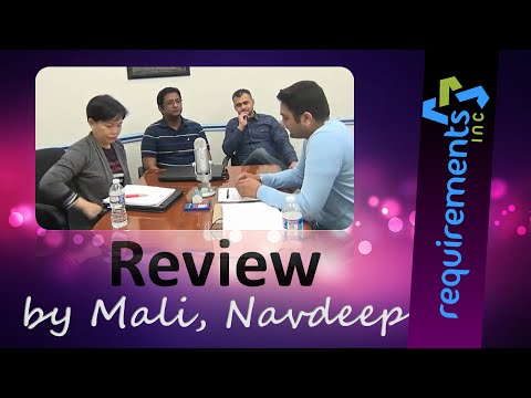 Requirements Inc Reviews - BA Workshop Alumni share theie experience (Mali and Navdeep)
