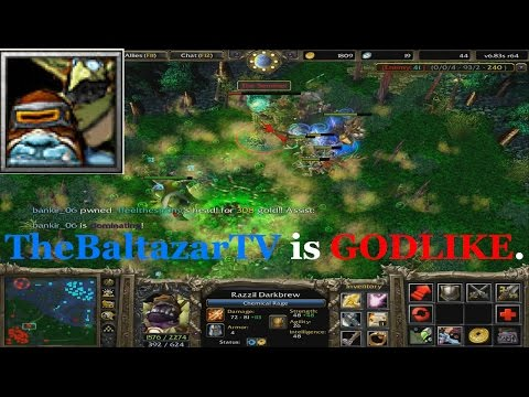 Alchemist DOTA - TheBaltazarTV is GODLIKE (Can't Be Touched)