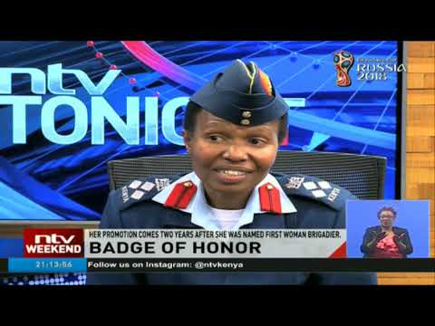 Fatumah Ahmed makes history again as first woman major general in the KDF