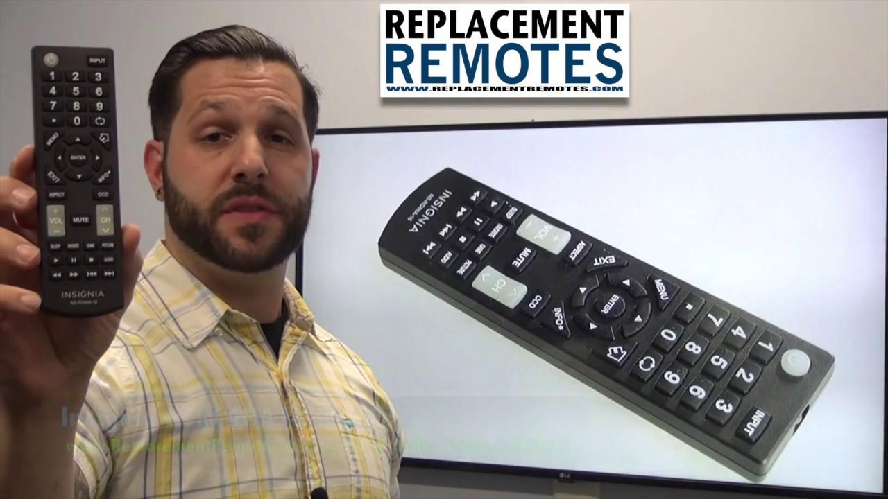 INSIGNIA NSRC4NA16 TV/DVD Combo Remote - www ReplacementRemotes com