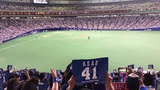 180929 中日対阪神 野本圭 最後の打席 ライスタより(ナゴヤドーム)