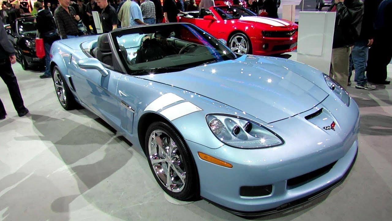 2012 Chevrolet Corvette Grand Sport Convertible Exterior And Interior At  2012 Toronto Auto Show