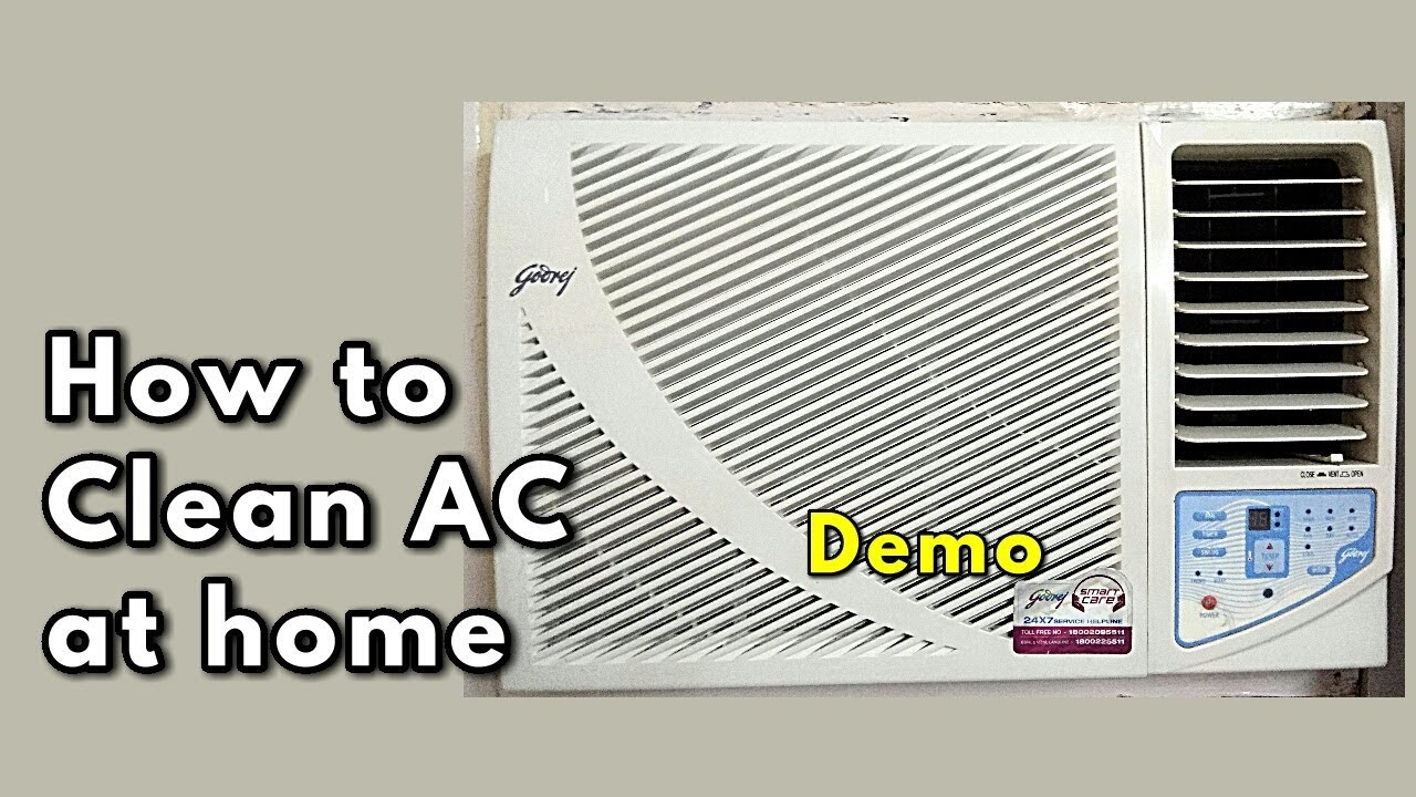 how to clean ac at home window ac cleaning air conditioner maintenance tips demo monikazz. Black Bedroom Furniture Sets. Home Design Ideas