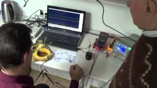 1-2 Мишин демонстрирует Лиманскому в ИКС сити свои  наработки 15.11.2014 - Глобальная Волна