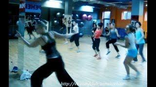 """урок танца в группе для фитнес-клубов - """"твист джайв""""- Анна Корбан"""