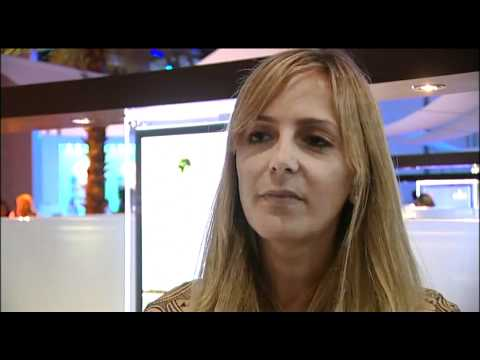 Thea Skelton, Project Manager, World Green Tourism,Abu Dhabi @ ATM 2011