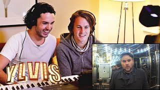 Ylvis | The Intelevator - Episode 4 (Donald Duck and Chinese modes) | discovery+ Norge