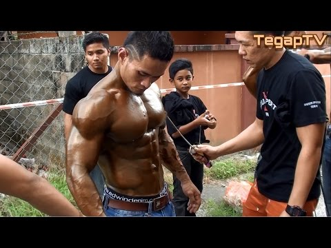 Mr Newfort Kelantan 2014: Backstage Scenes