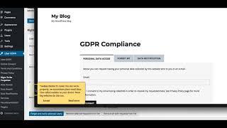 Maak je WP site klaar voor de GDPR met deze WP Plugin Mp3