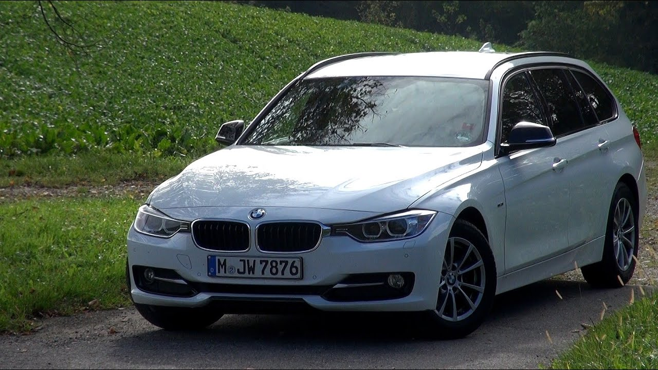2014 bmw 320d f31 touring 184 hp test drive youtube