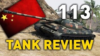 World Of Tanks || 113   Tank Review