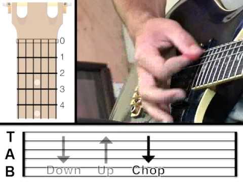 Guitar Lesson 4 - Strumming Pattern (www.vGuitarLessons.com)