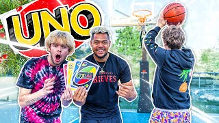 GIANT Uno Basketball Challenge w/ 2HYPE !!