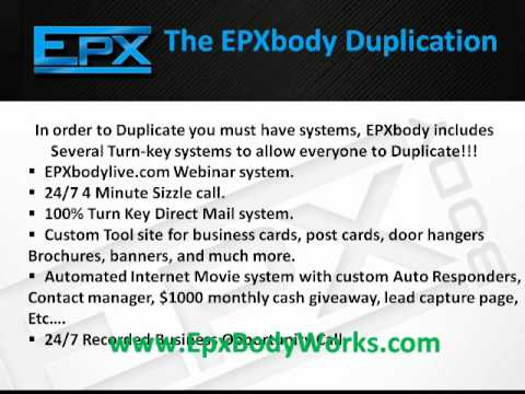 EpxBody Guaranteed Income Marketing System Make $10,000 Within 90 Days!