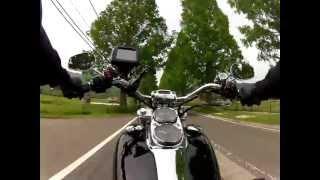 ★ GoPro HD HERO2 バイク マウントテスト 3 Harley Davidson 07 FXDL