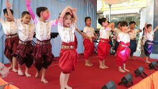 Children Song at Charity Event in Cambodia