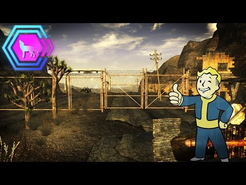 Whats behind the gate at the Mojave Outpost?  | Fallout: New Vegas