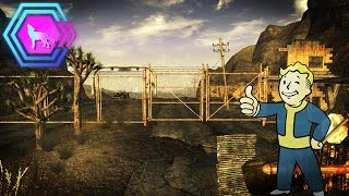 Whats behind the gate at the Mojave Outpost Fallout New Vegas