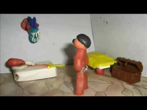 Мультфильм про пластилиновых существ