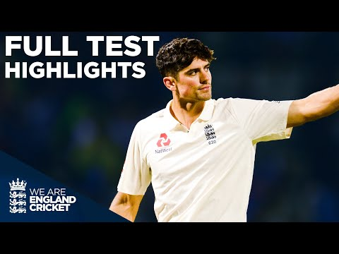 First Ever Day Night Test! | Root And Cook Centuries! | England v West Indies 2017 HIGHLIGHTS