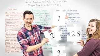 How to Prioritize SEO Tasks - Whiteboard Friday