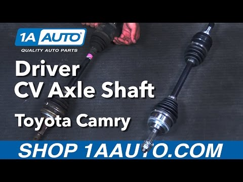How to Replace Front Driver Side Axle Shaft 92-01 Toyota Camry