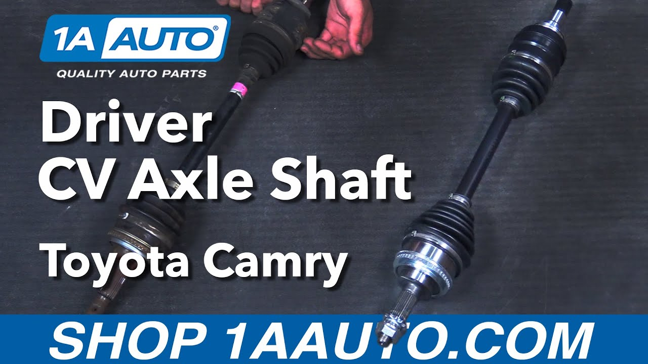 How To Replace Front Driver Side Axle Shaft 92 01 Toyota Camry Youtube 98 Honda Accord 3 0 V6 Wiring Diagram