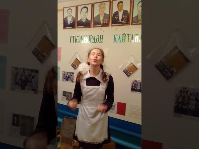 Изображение предпросмотра прочтения – АйсылуМустафина читает произведение «Баллада о Матери» А.Д.Дементьевa