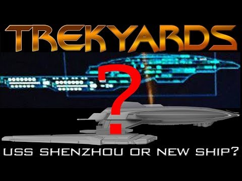 USS Shenzhou or new ship revealed???? - Trekyards Analysis