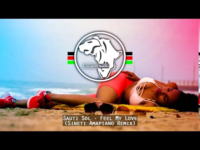 Sauti Sol - Feel My Love (Sineti Amapiano Remix)