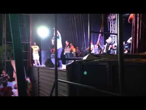 Felipão no palco principal 03/06/2014