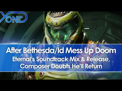 After Bethesda/Id Mess Up Doom Eternalu0027s Soundtrack Mix u0026 Release, Composer May Not Return