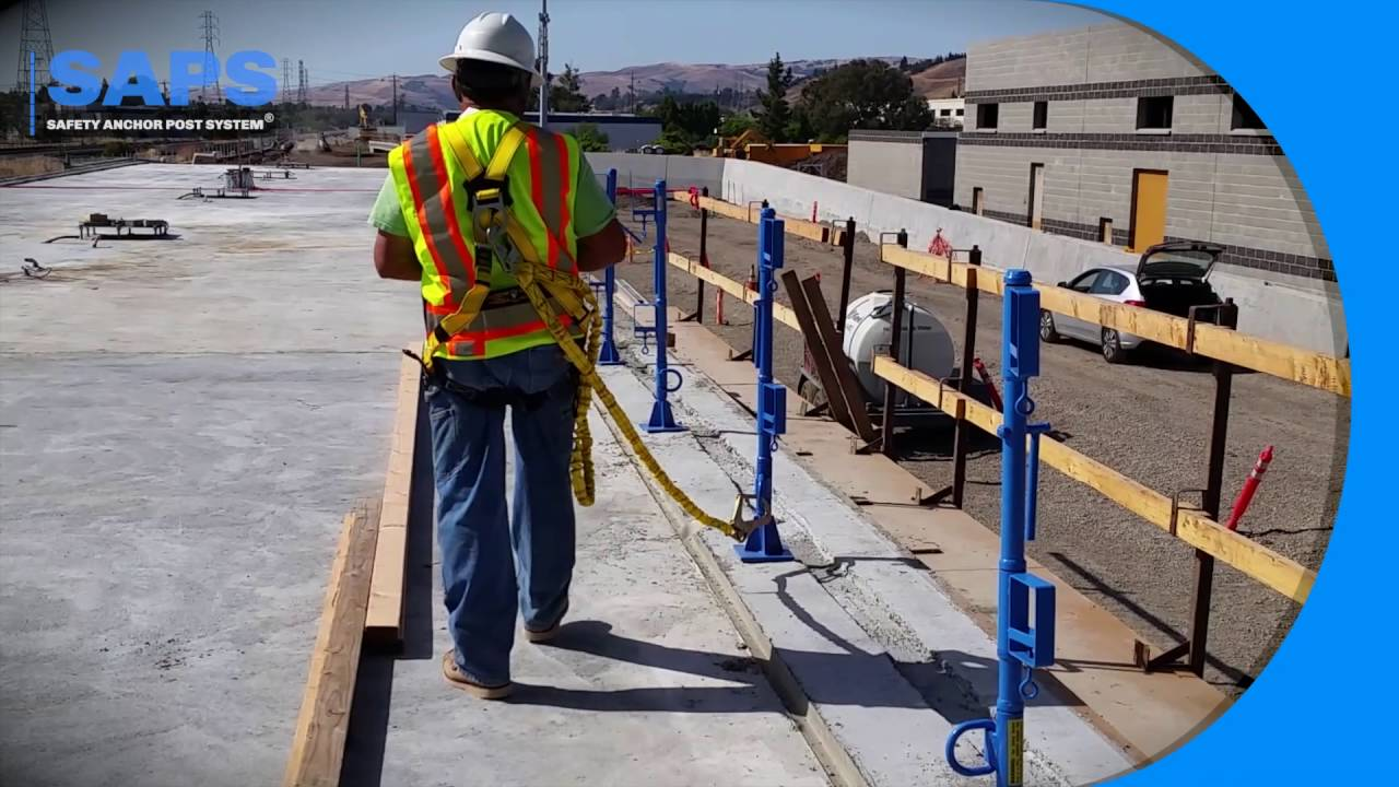 SAP Safety guardrail system - YouTube