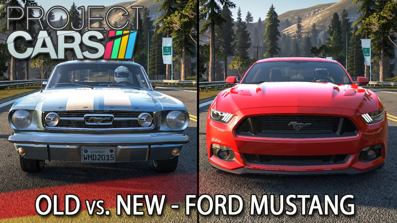 Old vs new ford mustang project cars hd ger california highway youtube