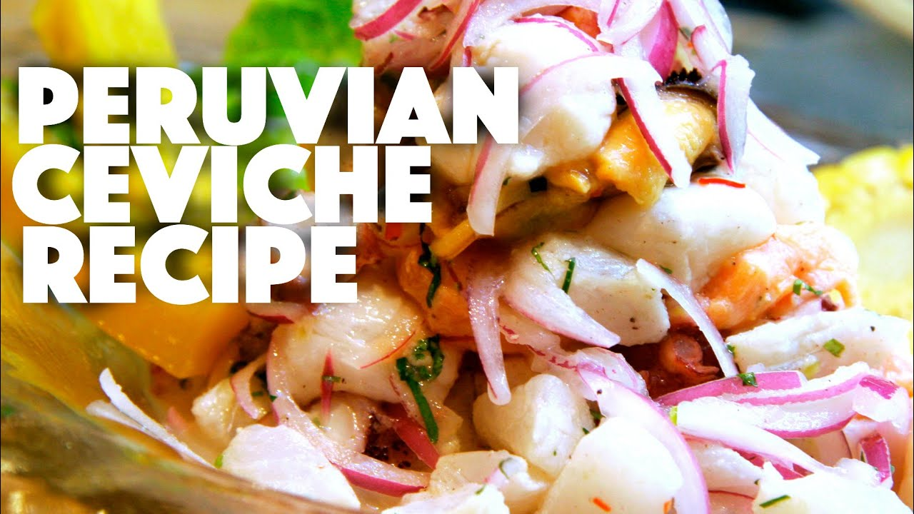 Simple Peruvian Ceviche Recipe - ketogenic diet recipes- how to make ceviche - appetizers ...