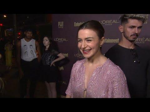Caterina Scorsone At EW Emmy Party  September 15, 2018