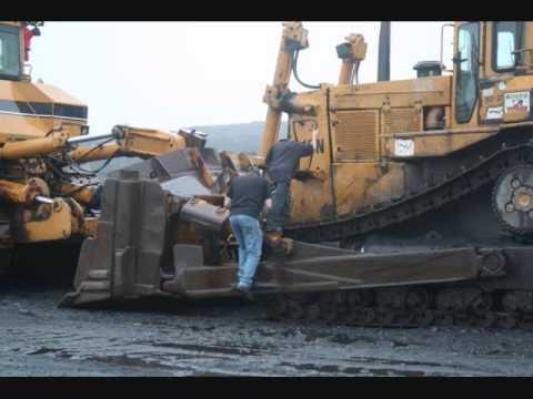 Big Caterpillar Coal Mining Equipment