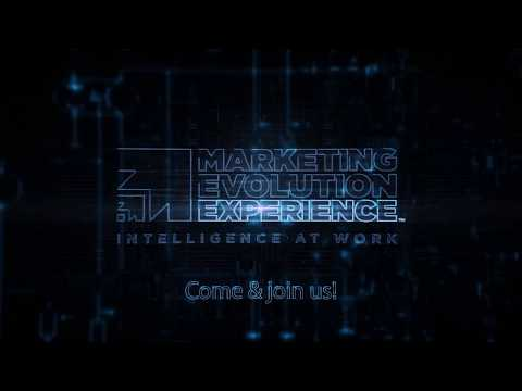 Marketing Evolution Experience Berlin 2018 - It's all about YOU!