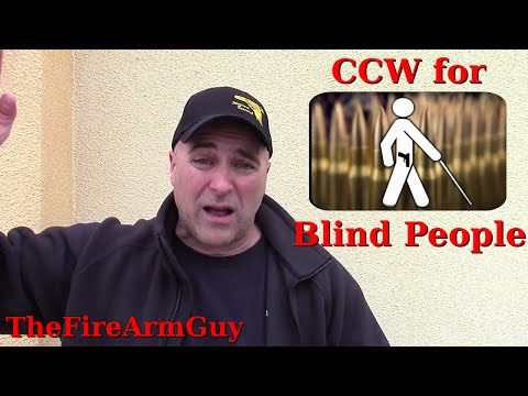 CCW for Blind People in Iowa Yet Nobody Gets Killed - TheFireArmGuy