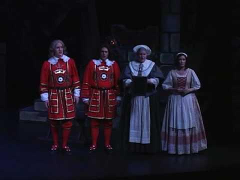 "Lamplighters Music Theatre - The Yeomen of the Guard 2011, ""Strange adventure"""