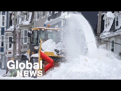 The aftermath of the N.L. winter storm; more snow hits Atlantic Canada